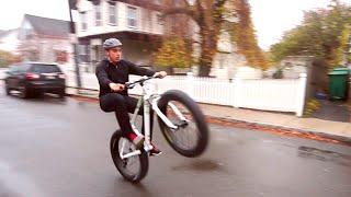 Fat Bike Wheelie - Rocky Mountain Bicycles Blizzard