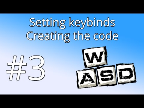 3. Unity tutorial: Setting keybinds and Controls - The code