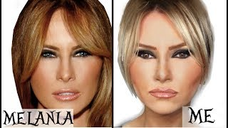 Melania Trump Makeup Transformation