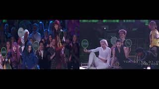 DWTS Descendants Performance - Rehearsal vs. Final Dance