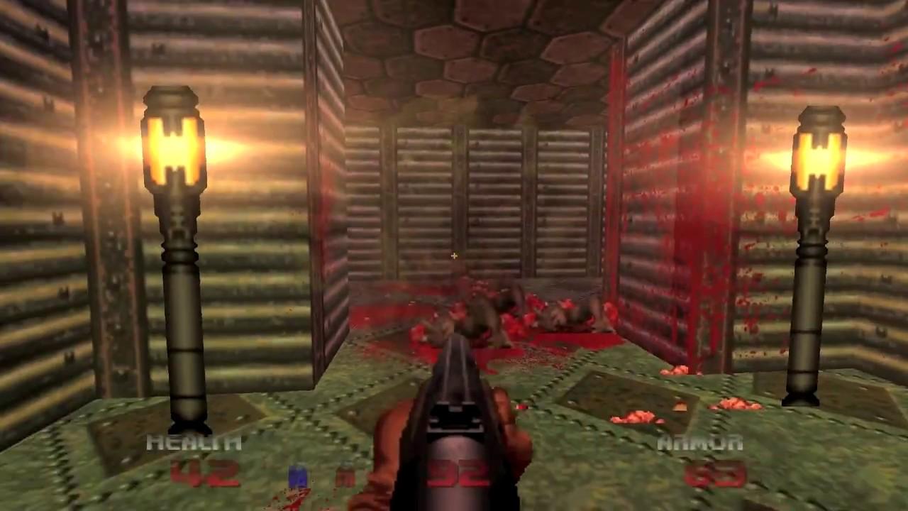 Brutal DooM 64 (GAMEPLAY 60FPS) - YouTube