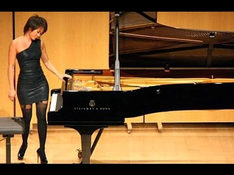 Yuja Wang - Prokofiev: Piano Sonata No. 8, 1. Andante dolce (Live at Philharmonie, Berlin / 2018) from YouTube · Duration:  14 minutes 35 seconds