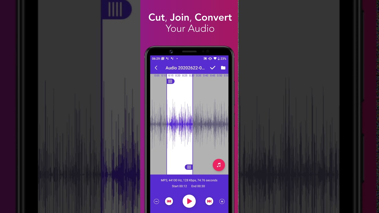 Music Editor Mp3 Cutter And Ringtone Maker Youtube