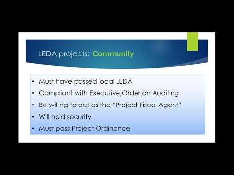 LEDA Webinar