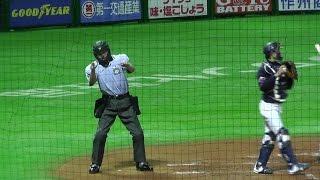杉永審判 のストライクコール!