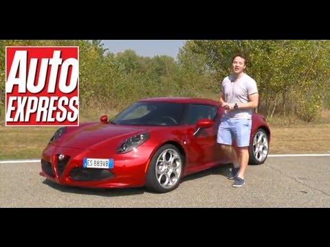 Alfa Romeo 4C review - Auto Express - YouTube
