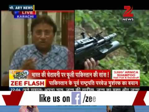 Myanmar operation: Musharraf threatens India on television