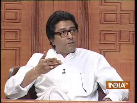 Raj Thackeray in Aap Ki Adalat  (Part 1) - India TV
