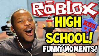 ROBLOX: HIGH SCHOOL! - ¡MI PRIMER DIA! - Parte (1)
