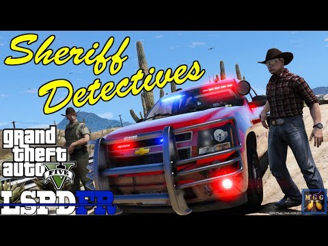 County Sheriff Casual Detective Patrol GTA 5 LSPDFR Episode 181