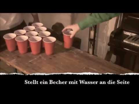 Wie spiele Ich Beer Pong ? (Deutsche Anleitung / Bier Pong)
