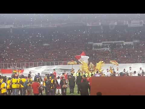 Merinding Aksi Suporter Persija Di Final Piala Presiden 2018 | Action Cool Soccer Supporters