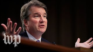 Republicans and Democrats vehemently split on Kavanaugh