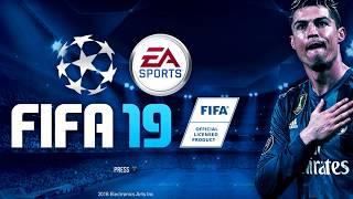 Fifa 19 - su primera gran novedad será la licencia de la champions league.