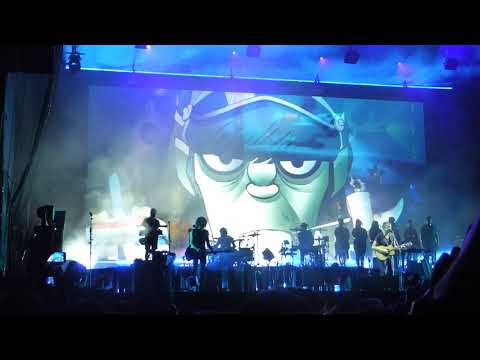 Gorillaz - On Melancholy Hill LIVE ACL Fest Weekend 1 [HD] 10/8/17