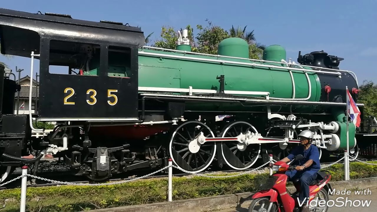 TitleThailand's Train Stations, Living Heritage at Huahin, Museum at  Chumpon & busy Patalong