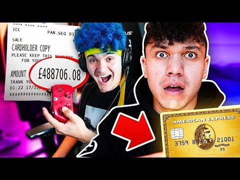 I Gave My Credit Card To This 15 Year Old Kid For 24 Hours (HE SPENT THIS)