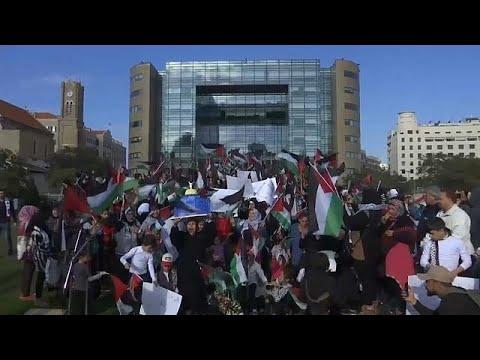 مظاهرات في لبنان تضامنا مع القدس  - نشر قبل 3 ساعة