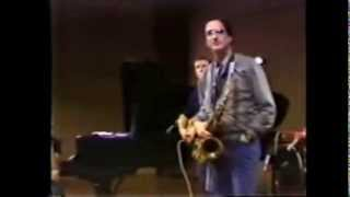 Michael Brecker Q&A at The University of North Texas 1984