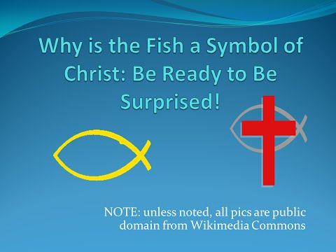 Christ And The Fish Symbol: It Is Not What You Think!