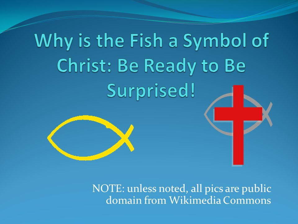 Christ And The Fish Symbol It Is Not What You Think