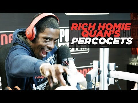 Rich Homie Quan Carries Percocets & Explains Their Many Uses