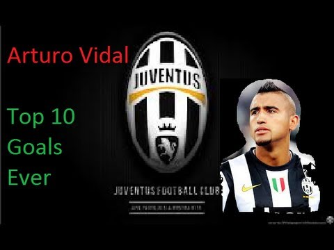 Arturo Vidal - Top 10 Goals Ever  HD