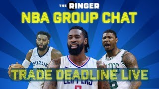 NBA Group Chat: Trade Deadline Live