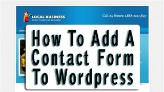 How To Add A Custom Contact Form To Wordpress Using Contact Form 7 Plugin