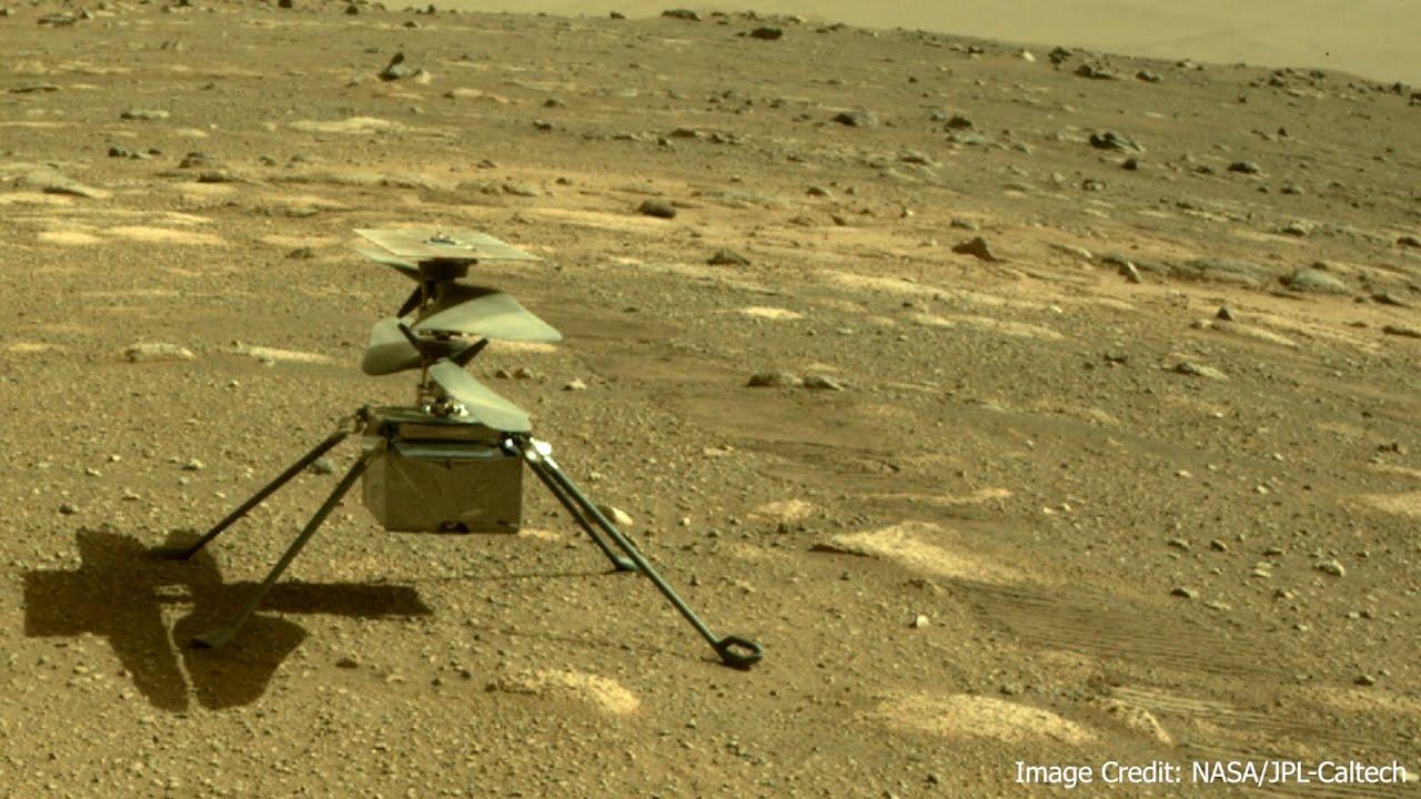 Mars 2020 Mission - Copter ist startklar