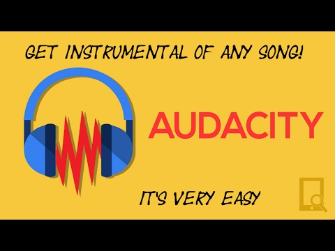 CONVERT ANY SONG TO INSTRUMENTAL(REMOVE VOCAL)