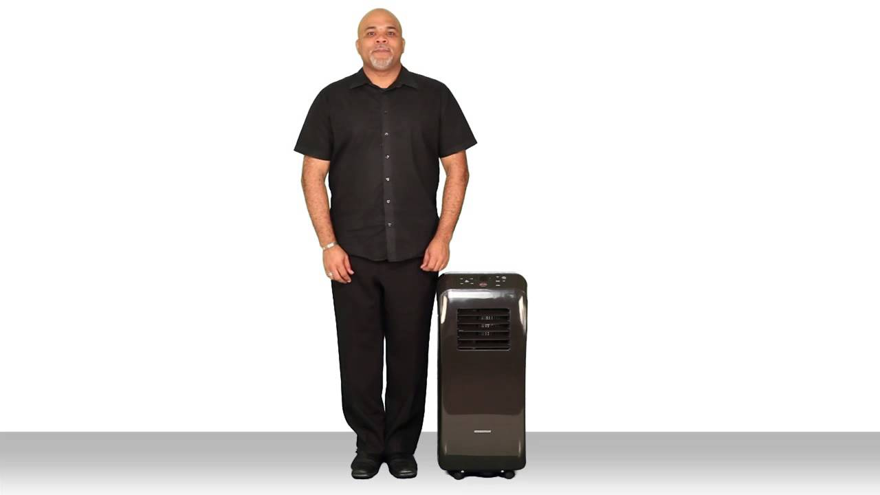 EdgeStar Smallest Footprint 10,000 BTU Portable Air Conditioner  AP10002BL