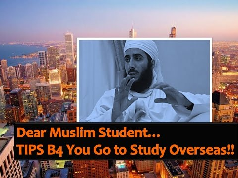 (V.V.VIP) What Muslim Students SHOULD PREPARE B4 Overseas Studies - Shk.  Kahlan AlKharusi