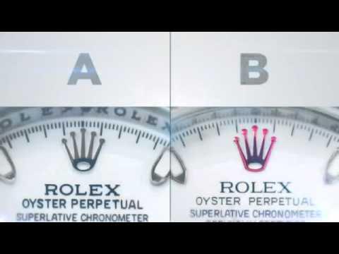 Cách Phân Biệt đồng Hồ Rolex Thật Và Rolex Giả