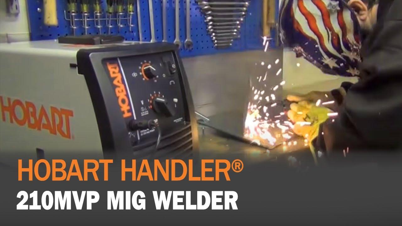 Hobart Handler 210mvp 500553 Youtube Welder Wiring Diagram Welding Products