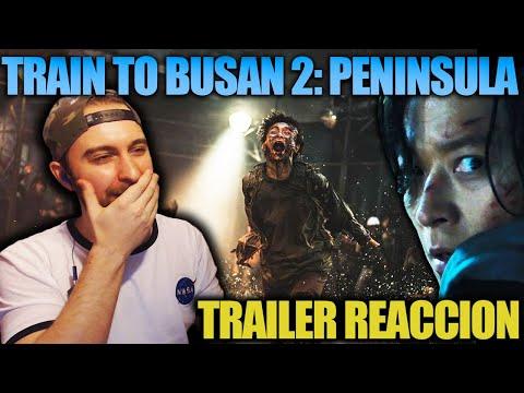 Video Reacción/Ánalisis: TRAIN TO BUSSAN 2: PENÍNSULA (2020) Trailer Oficial | MAD MAX CON ZOMBIES