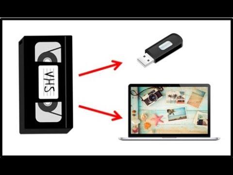 Mettre vos souvenir cassette VHS sur pc usb - YouTube