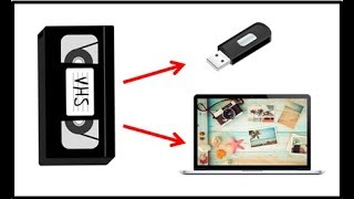 Mettre vos souvenir cassette VHS sur pc usb