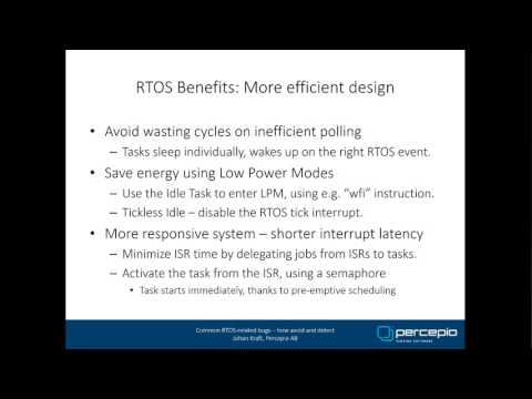 Common RTOS-related bugs - How Avoid and Detect
