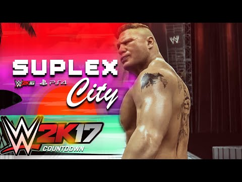 Brock Lesnar Visits Suplex City In WWE 2K16 For the last time!