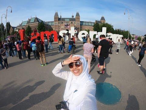 Travel Vlog   North Holland, Netherlands & Tulips!!  