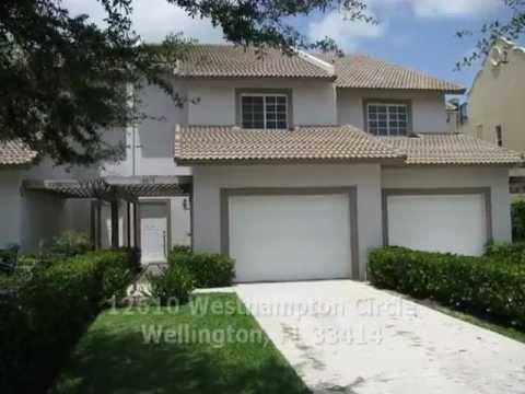 Wellington Rental Directly on Lake Wellington - 12610 Westhampton Circle, Wellington, FL 33414