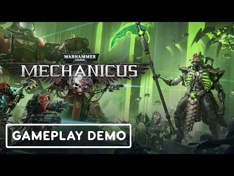 Warhammer 40k: Mechanicus - Official Gameplay Demo | Summer of Gaming 2020