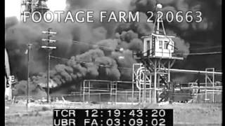 1947 - Texas City Ship Explosions & Fire 220663-05 | Footage Farm