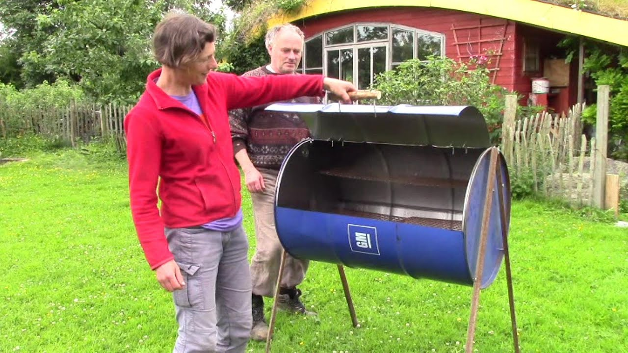How To Make The Easiest And Best Oil Barrel Barbecue Ever No Welding Cart Diagram