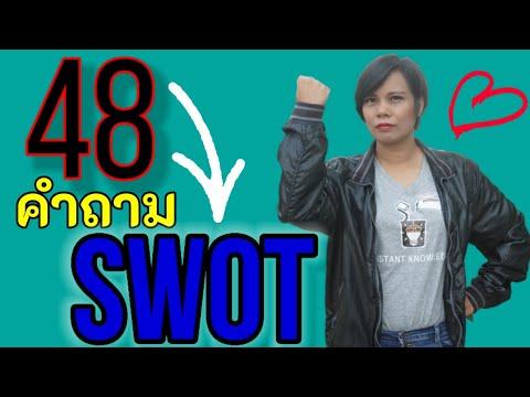 SWOT analysis (จุดแข็ง จุดอ่อน โอกาส อุปสรรค) วิเคราะห์ swot ด้วย 48 คำถาม swot เจ้าหญิงแห่งวงการiso