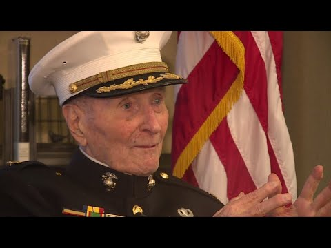 Lulu - 104Yr. Old Marine Corps Vet Asks Strangers For Valentine's Day Cards