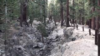 Geocaching Earthquake Fault Area Mammoth Lakes, Ca