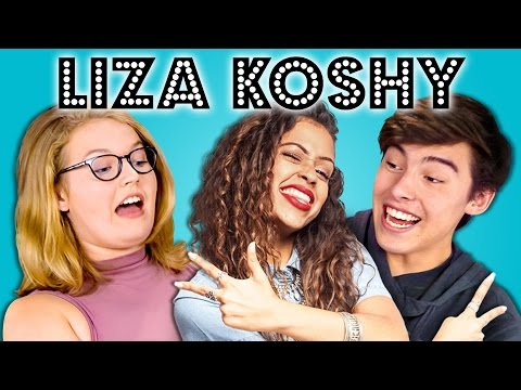 Thumbnail: TEENS REACT TO LIZA KOSHY