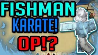 HOW TO GET FISHMAN KARATE!?| Ro-Piece | Roblox | FISHMAN KARATE SHOWCASE!